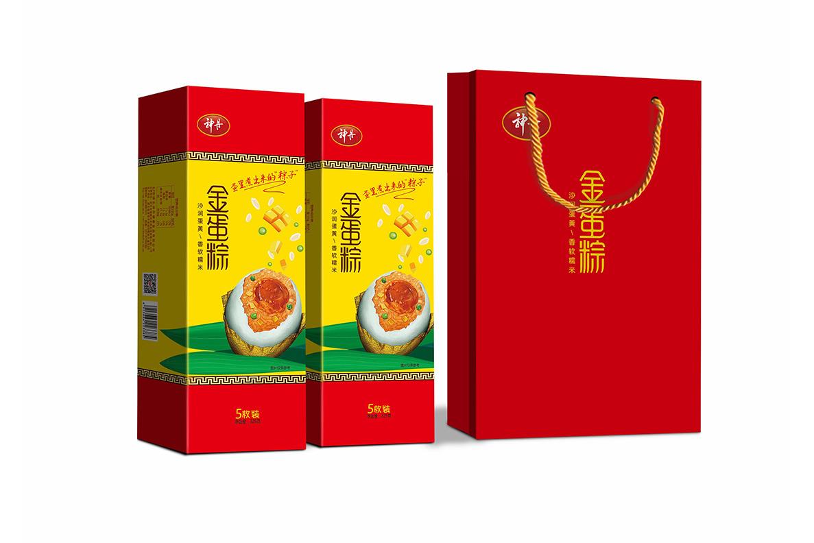 5枚金蛋粽小条盒